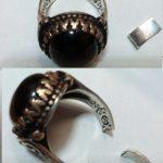 Сломанный серебряный перстень